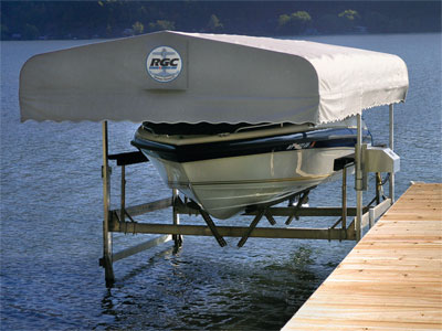 Boat Lift Canopies Badger Docks And Lifts