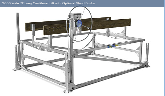 Cantilever Lifts Badger Docks And Lifts
