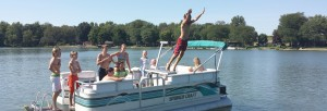 Lillipad Diving Board